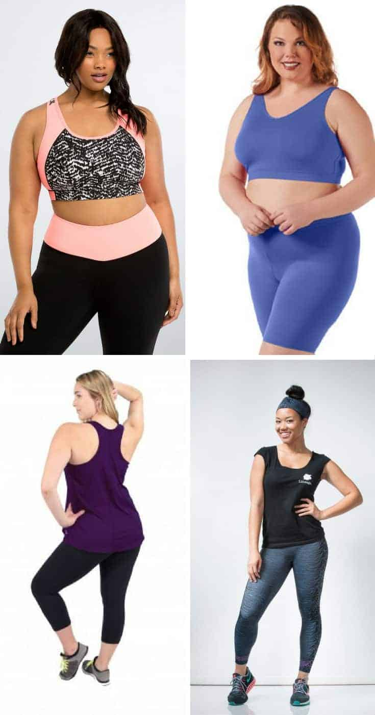 plus size activewear