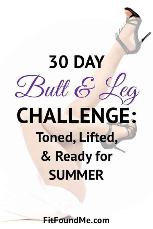 Get rid of mom butt with 30 day challenge