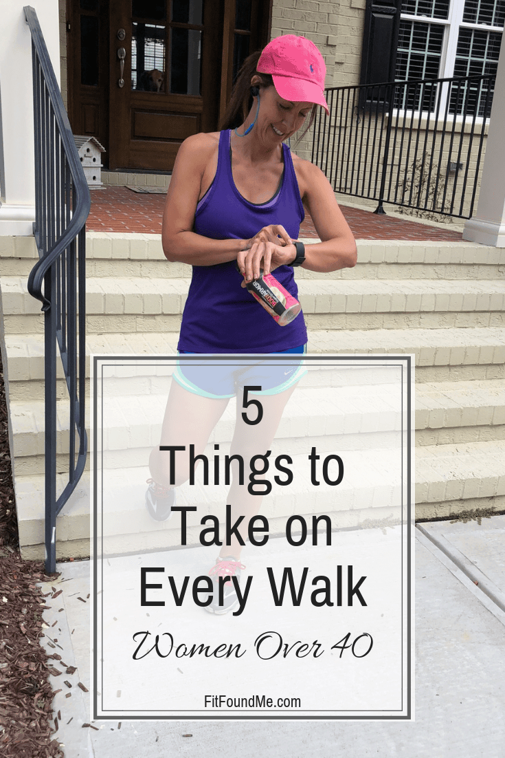 Stephanie starting tracker for walk to lose weight