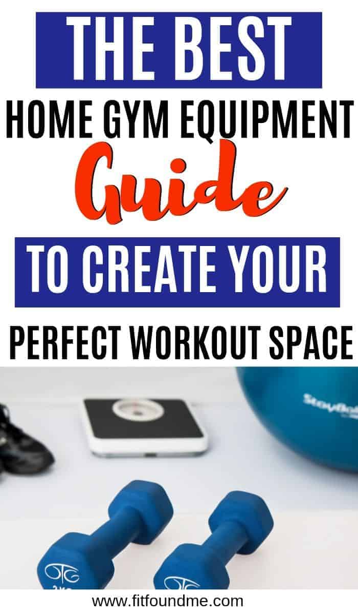weights and a scale indicating things to use when designing the best home gym as the perfect workout space
