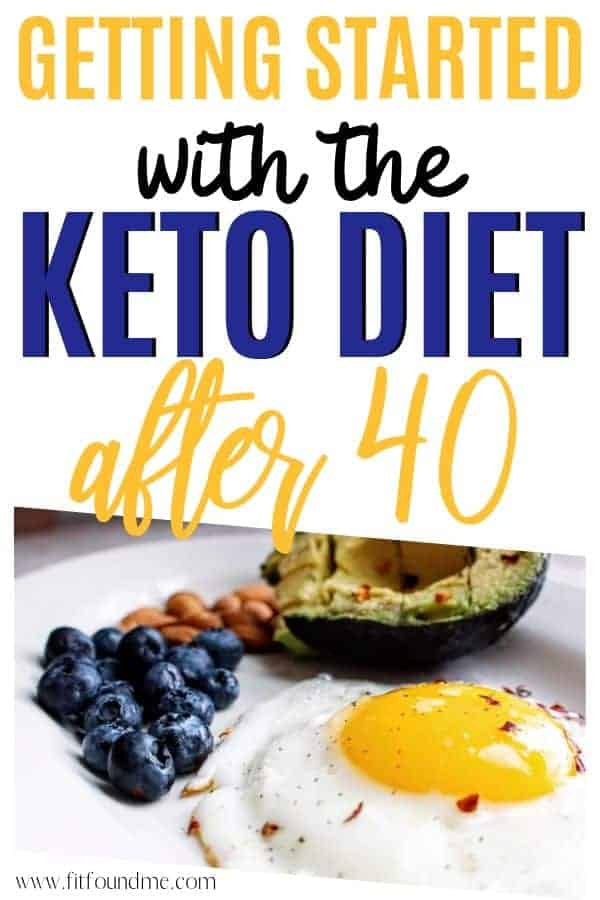 keto diet food on a plate eggs, blueberries, avocado for getting started keto diet