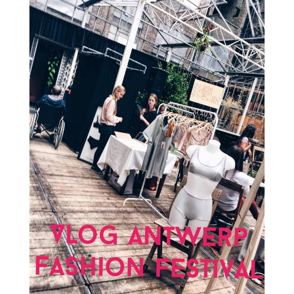 VLOG ANTWERP FASHION FESTIVAL: FASHION VILLAGE