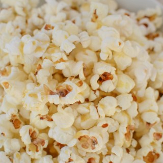 Popcorn + Nutritional Yeast