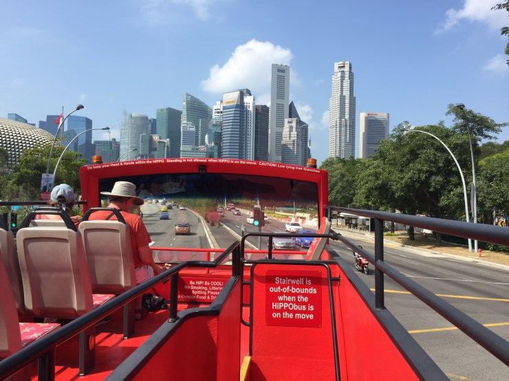 Hop On - Hop Off bus tour in Singapore
