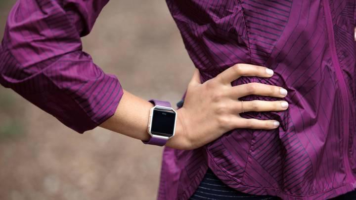 Fitbit Blaze paars