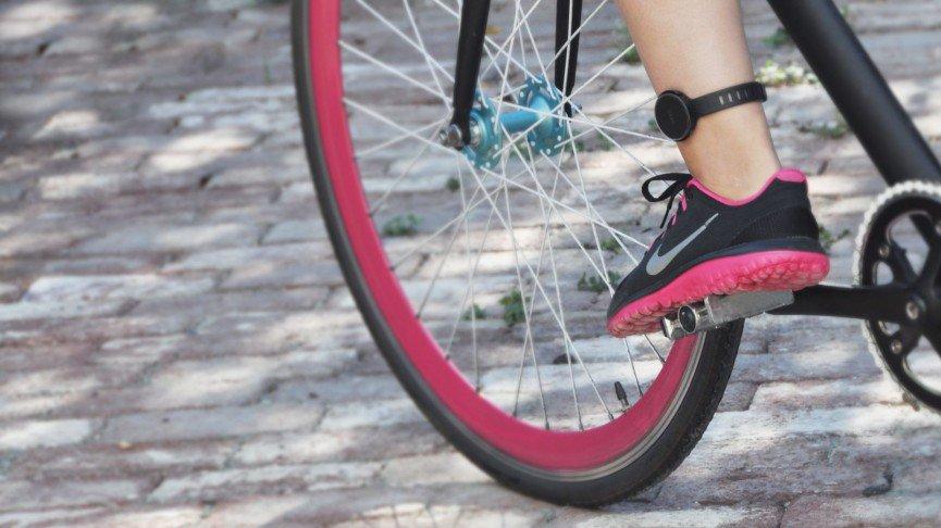 Moov tracker voor fietsen