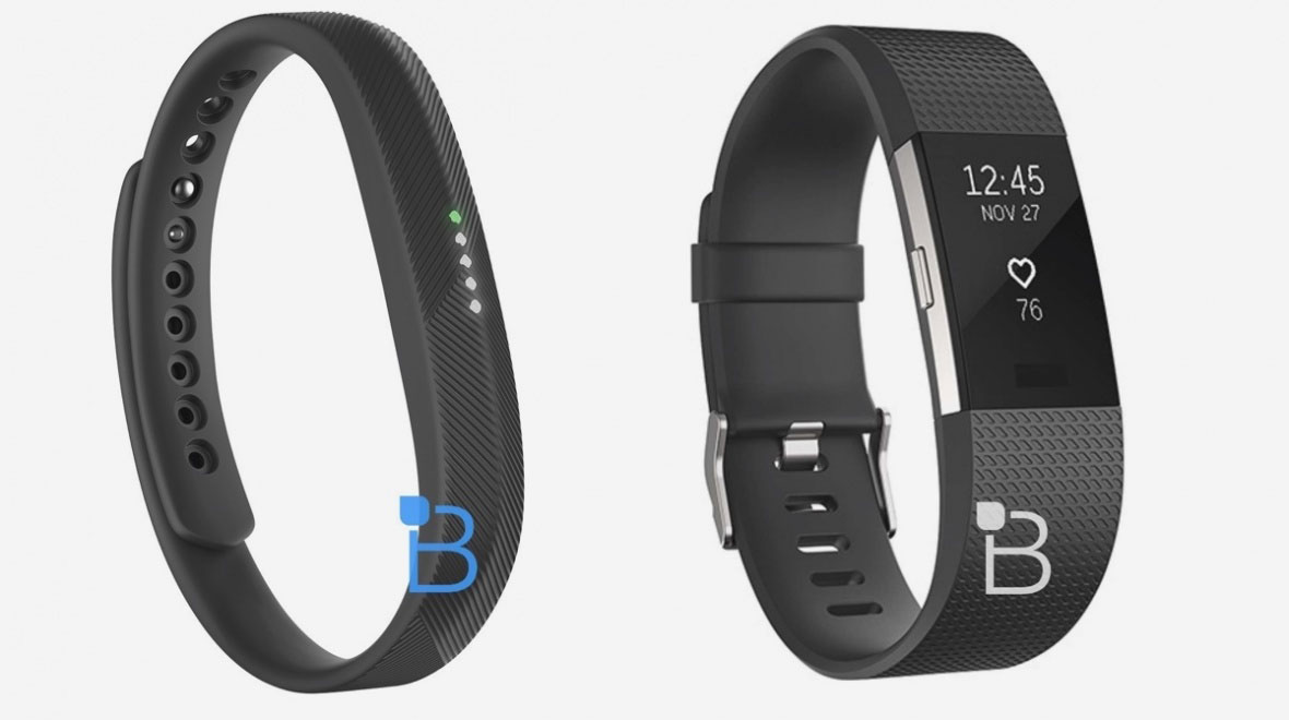Fitbit Charge 2 en Flex 2