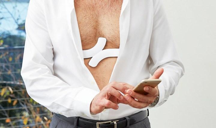 QuardioCore medische hartslagmeter