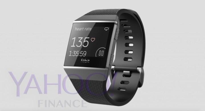 Fitbit smartwatch grijs