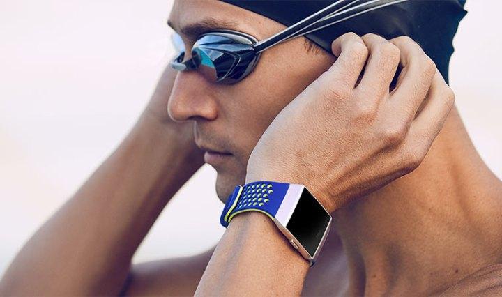 Fitbit Ionic zwemmer