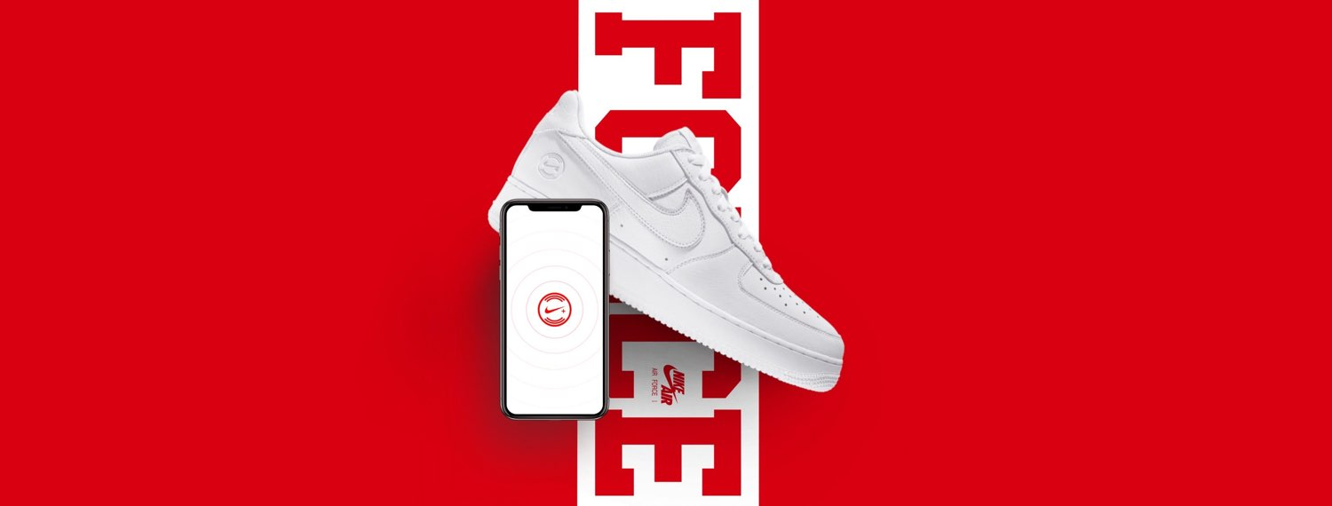 AF1 NikeConnect QS NYC - Nike connected sneakers