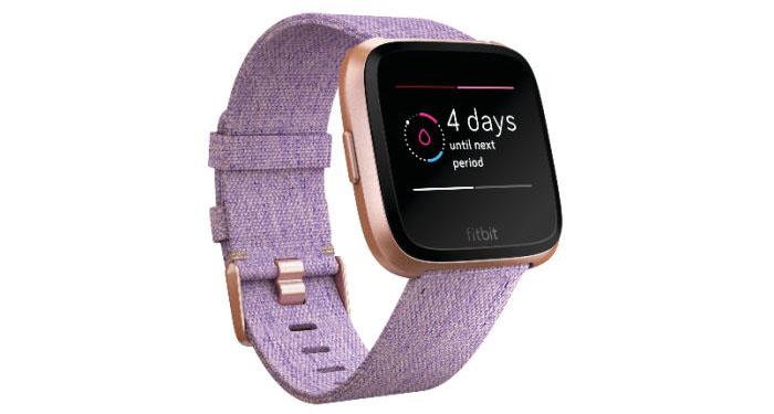 Fitbit Versa: periode melding