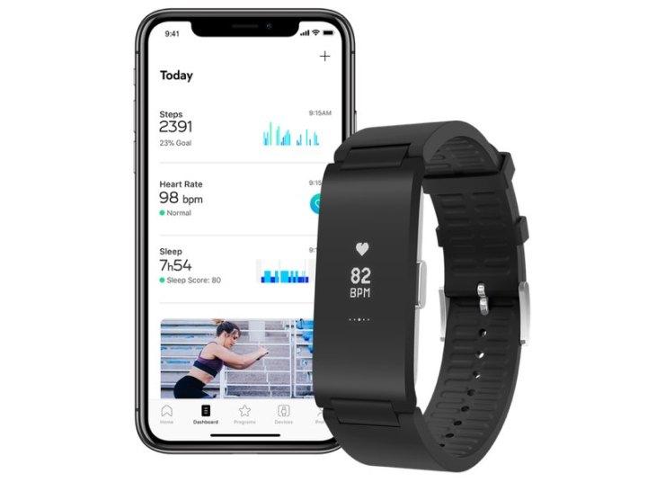 Withings Pulse HR met iPhone