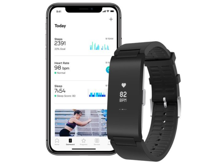 Withings Pulse HR met iPhone