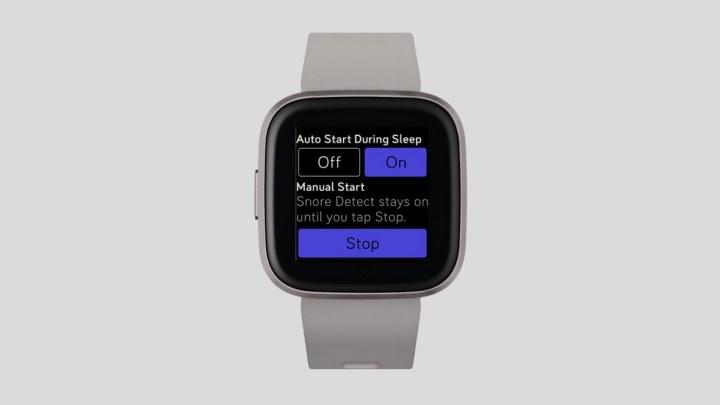 Fitbit snurken met Snore Detect
