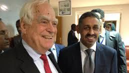 Sidi Ould Tah and Peter Eigen