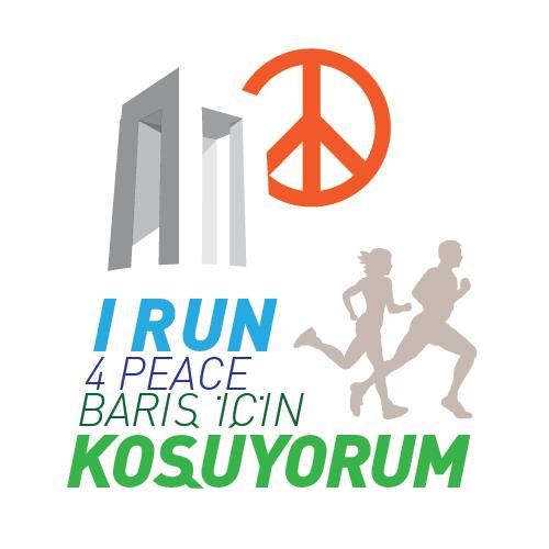 barış için koşuyorum