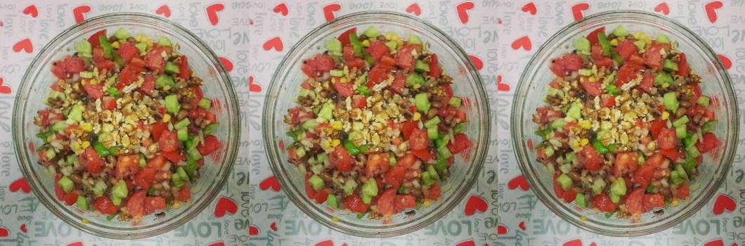 kuru börülceli salata