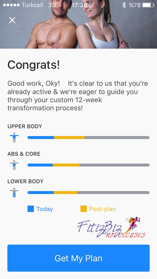 Runtastic Results Programı