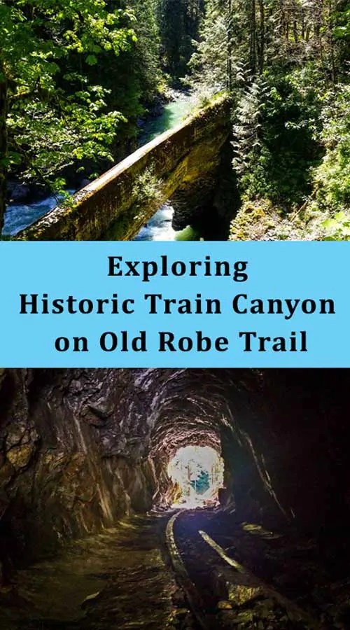 Exploring the Historic Train Canyon on Old Robe Trail