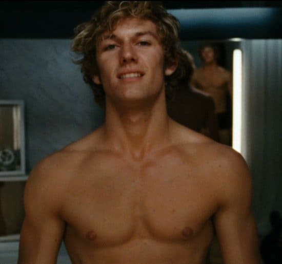 Shirtless alex pettyfer