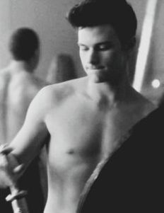 Chris Colfer Shirtless image