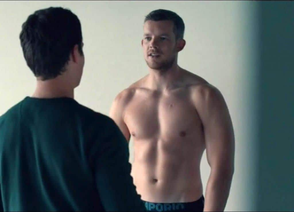 Russell Tovey  Fit Males Shirtless  Naked-1801
