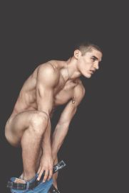 Kerry Degman getting naked