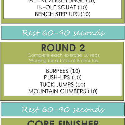 HIIT TUESDAY WORKOUT #2