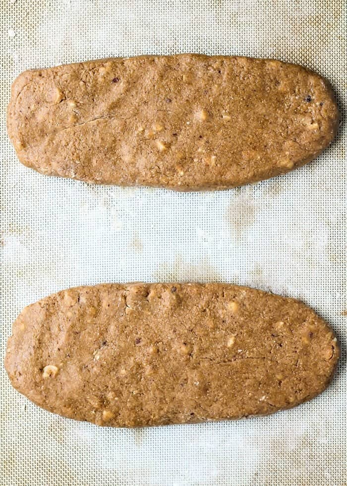 Making your own biscotti at home is actually pretty easy!