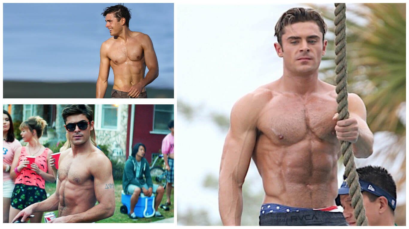 Zac Efron Workout Routine To Get Jacked How He Went From