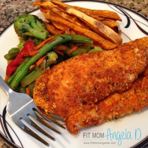 Zesty Almond Crusted Chicken Fingers