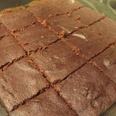 Pumpkin Brownies - 21 Day Fix Approved