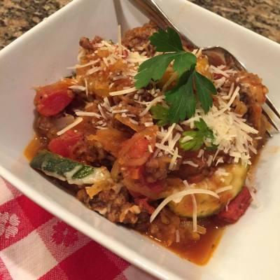 Spaghetti Squash Skillet