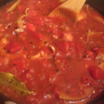 Fixed Up Tomato Artichoke Soup