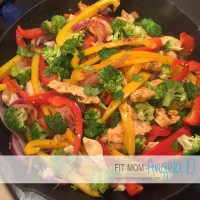 Mexican Chicken Stir Fry Skillet