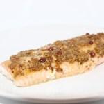 Salmone al pistacchio