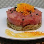 Tartare di tonno e finocchi agli agrumi