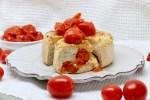 Pancake con pomodorini confit