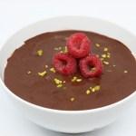 Frozen porridge al doppio cioccolato