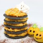 Trick or treat pancake