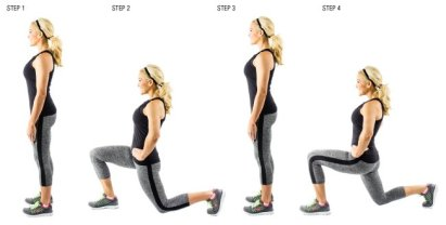 Image result for Walking Lunges