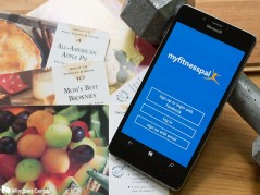 The MyFitnessPal Phone App