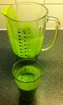 Hulk-smoothie