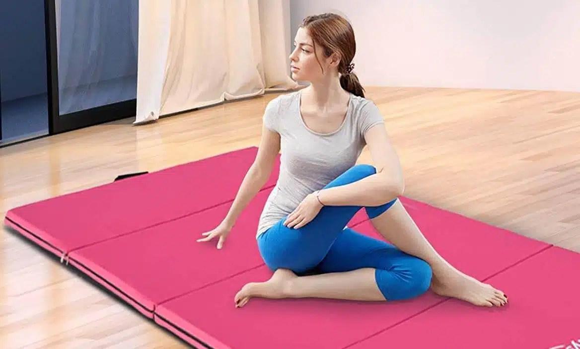 meilleur tapis de yoga pliable la