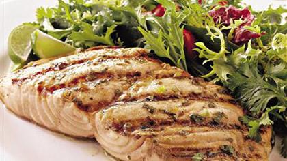Losos i salata