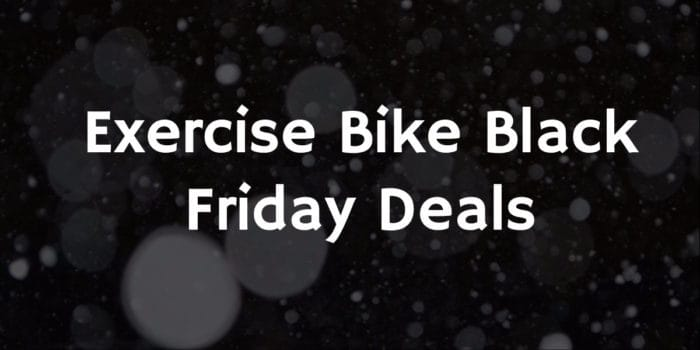 Exercise Bike Black Friday Deals