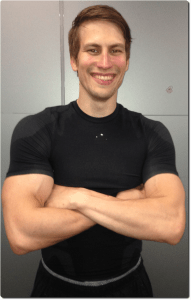 Trainer4You kuntosalivalmentaja ja urheiluhieroja Tommi Eerola.