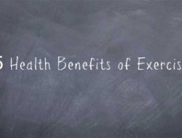 5 Health Benefits of Exercise