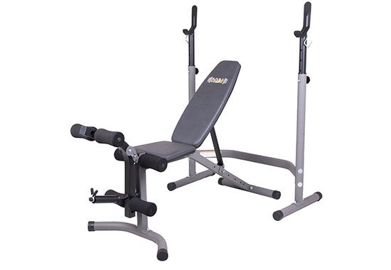 Body Champ Weight Bench Combo Set